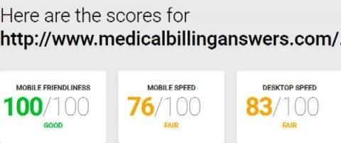 Medical Billing Answers blog speed