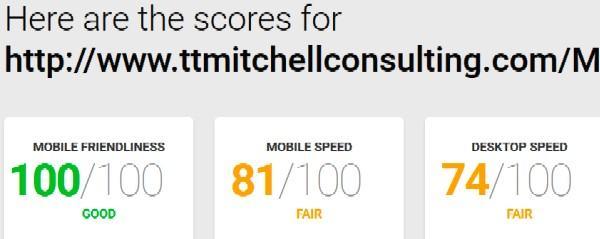 Mitch's Blog speed