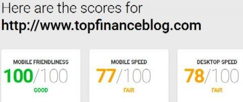 Top Finance Blog speed