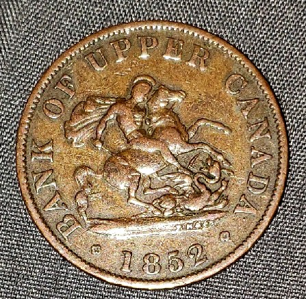 old Canadian coin